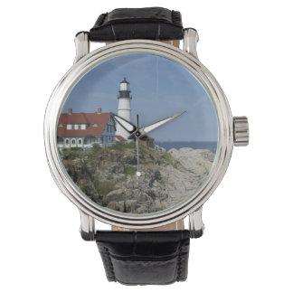 Portland Head Light, Cape Elizabeth,Maine, Wrist Watch