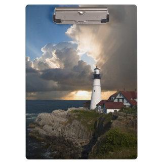 Portland Head Light Lighthouse, Maine, Clipboard