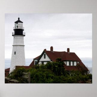 Portland Head Light Lightouse Maine Poster
