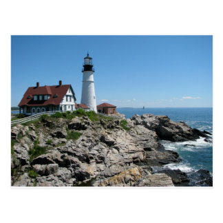 Portland Head Light, Maine, USA. Postcard