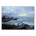 Portland Head Lighthouse at Sunrise Card