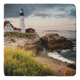Portland Head Lighthouse | Cape Elizabeth, Me Trivet