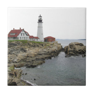 Portland Head Lighthouse Ceramic Tiles