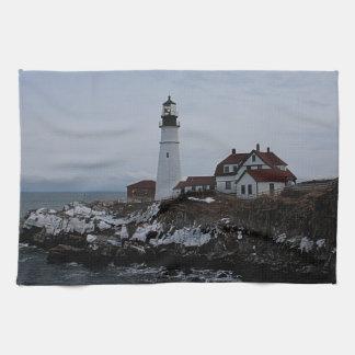 Portland Head Lighthouse Kitchen Towel