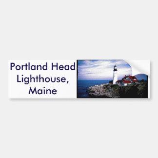 Portland Head Lighthouse Maine Bumper Sticker