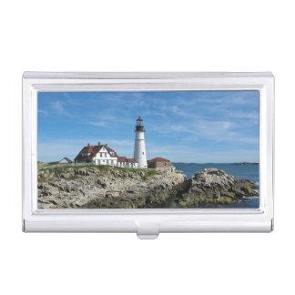 Portland Head Lighthouse, Maine Business Card Cases