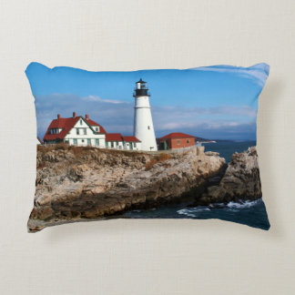 Portland Head Lighthouse, Maine Decorative Pillow