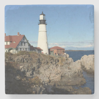 Portland Head Lighthouse Maine Stone Coaster