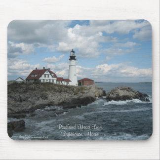 Portland Headlight Lighthouse Mousepad
