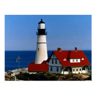 Portland Headlight Postcard