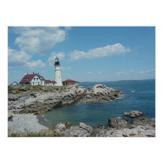 Portland Headlight Poster