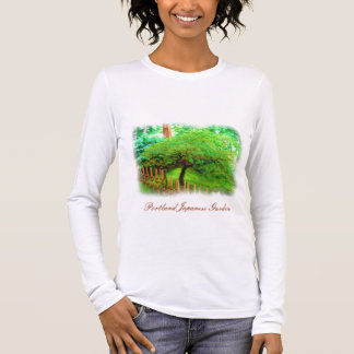 Portland Japanese Garden watercolor t-shirt