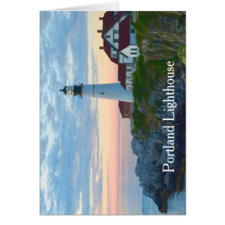 Portland Lighthouse Card
