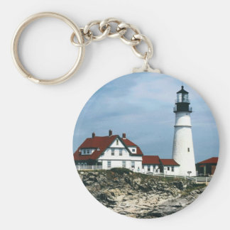 Portland Lighthouse Keychain