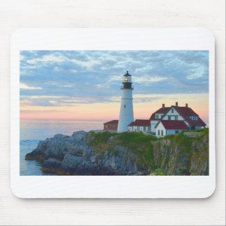 Portland Lighthouse mouse pad