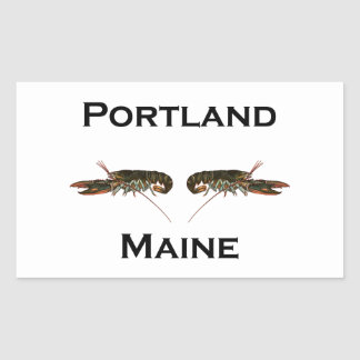 Portland Maine Lobsters Sticker