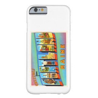 Portland Maine ME Old Vintage Travel Souvenir Barely There iPhone 6 Case