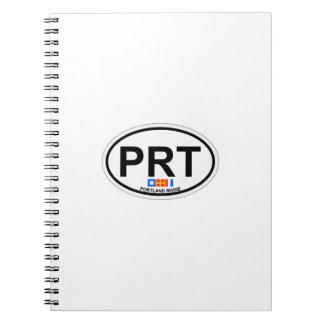 Portland Maine. Spiral Notebook