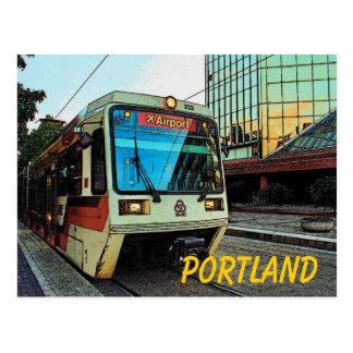 Portland (MAX) Postcard