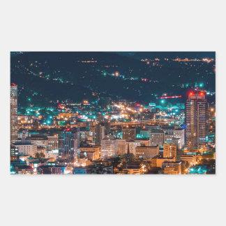 Portland Night Skyline Sticker