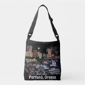 Portland @ Night Tote Bag