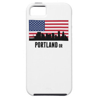 Portland OR American Flag iPhone 5 Covers