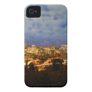 Portland OR Cityscape at Blue Hour Case-Mate iPhone 4 Case
