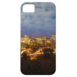 Portland OR Cityscape at Blue Hour iPhone 5 Cases