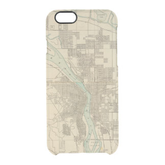 Portland, Or Clear iPhone 6/6S Case