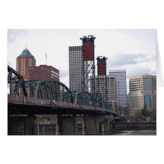 Portland, OR Downtown Card