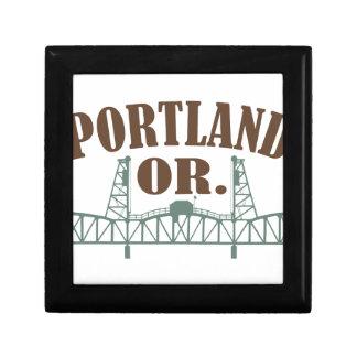 Portland OR Jewelry Box