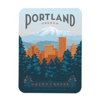 Portland, OR Rectangular Photo Magnet