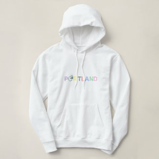 Portland Oregon Bike Womens Hoodie