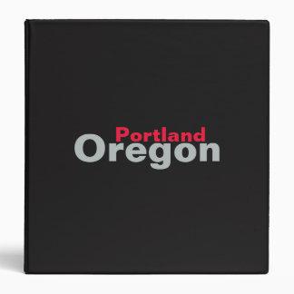 Portland, Oregon Binder