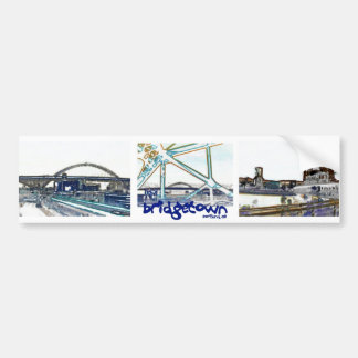 "Portland Oregon ""Bridgetown"" Bumper Sticker"