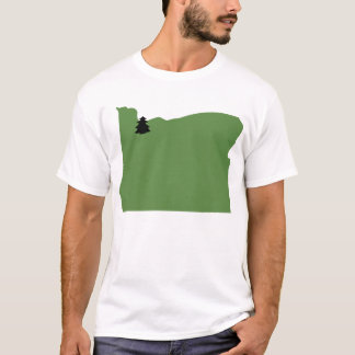 Portland, Oregon Evergreen Love Tee
