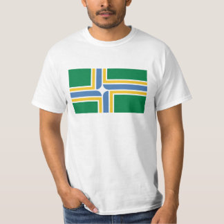 Portland Oregon Flag T-shirt