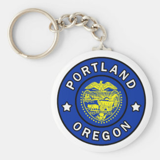 Portland Oregon Keychain