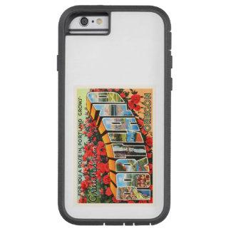 Portland Oregon OR Old Vintage Travel Souvenir Tough Xtreme iPhone 6 Case