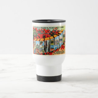 Portland Oregon OR Old Vintage Travel Souvenir Travel Mug