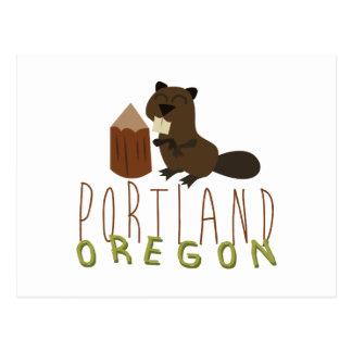 Portland Oregon Postcard