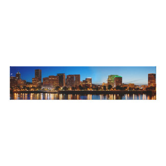 Portland Oregon Skyline Canvas Print