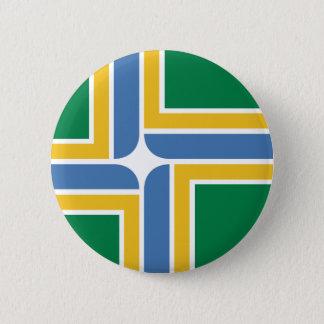 Portland, Oregon, United States flag 2 Inch Round Button