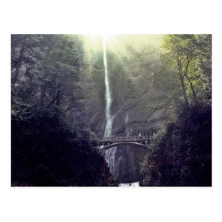 Portland Oregon Waterfall Postcard
