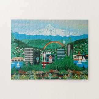 Portland Rose Gardens Puzzle