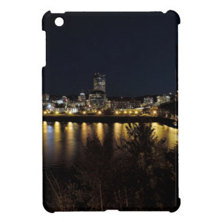 Portland Skyline at Night Cover For The iPad Mini