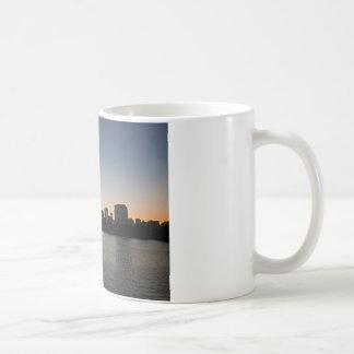 Portland Skyline at Sunset Coffee Mug