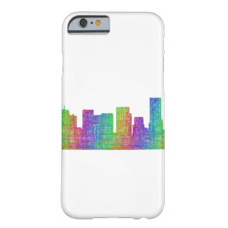 Portland skyline barely there iPhone 6 case