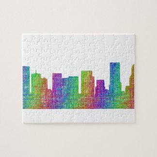Portland skyline jigsaw puzzle