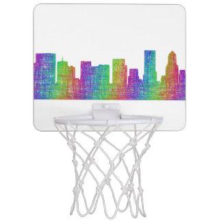 Portland skyline mini basketball hoop